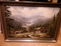 VINTAGE Painting by German Artist  Scholz and comes with Certificate  Mississauga, L5J 2E5