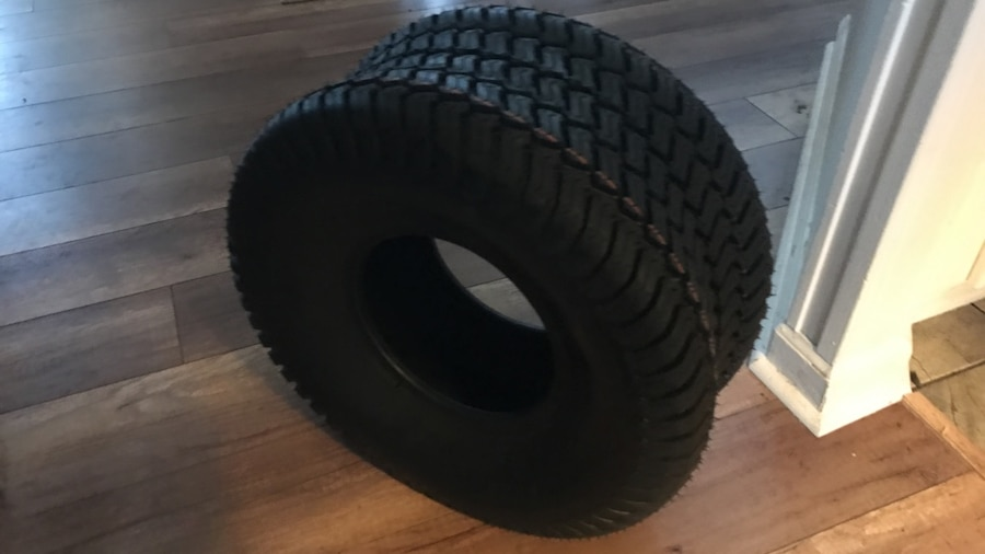 Backhoe Tire Brands : Lawn mower tractor tires have brand new