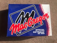 New Dozen Mac Gregor x100 softballs Revere, 02151