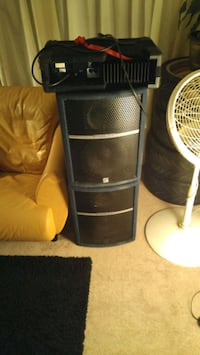 PA Speaker and amplifier