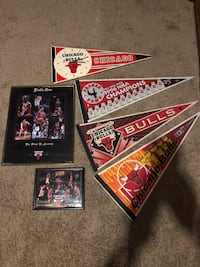 Chicago bulls collectibles  McHenry, 60098