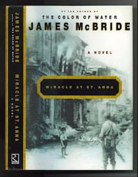 "Book ""Miracle at St. Anna"" by James McBride Henderson"
