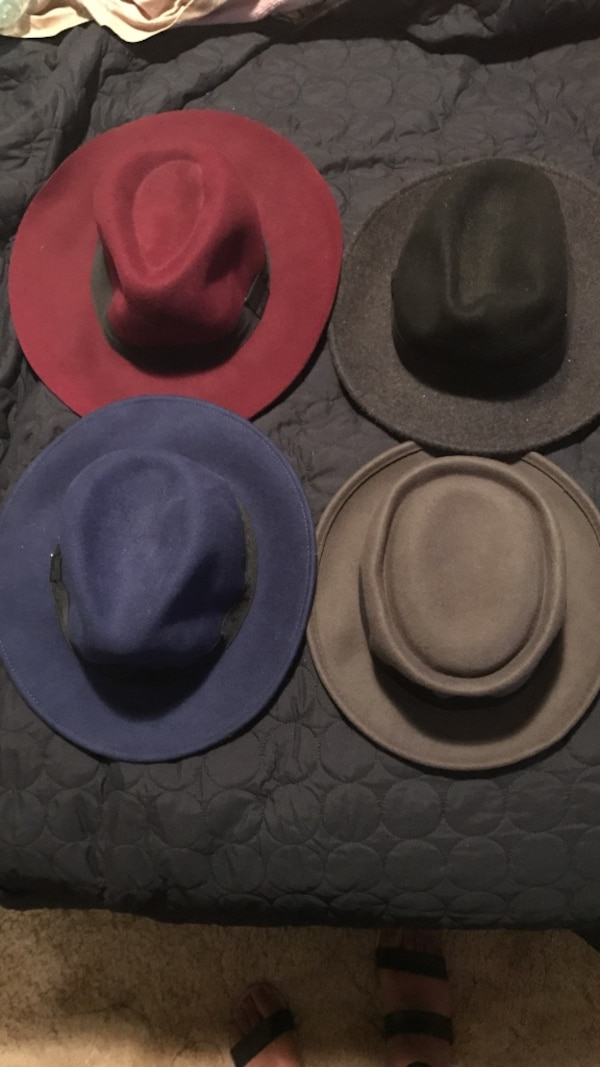 38c198547b142 Used four cowboy hats for sale in Hemet - letgo