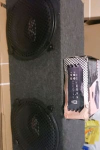 two sub woofers 800 watts and 1200 watts amplifier Mississauga, L5L