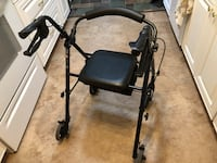 Walker Rollator Scooter with storage  775 mi