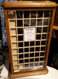 Solid Oak Jewelry display case