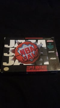 NBA Jam in box SNES Burlington, L7M 4X6