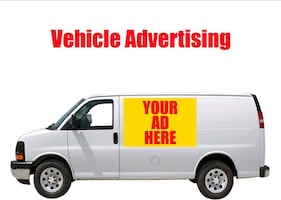 Work vehicle vinyl decal services