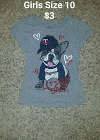 Youth Girls MN Twins Size 10 Minneapolis, 55428