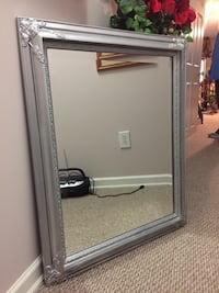Large sliver frames mirror. Price non-negotiable