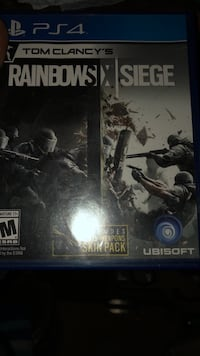 Sony PS4 Tom Clancy's Rainbow Six Siege game Gwynn Oak, 21207