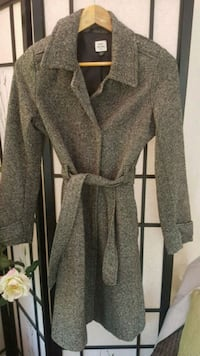 Ladies Peppered Trench style jacket coat Whitby