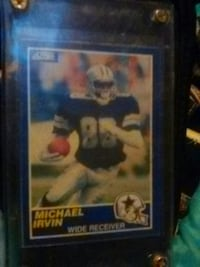 Michael irvin wide receiver football trading card Seattle, 98125