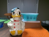 40's Donald Duck cookie jar East Point, 30344