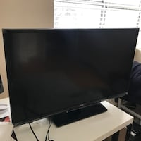 black Samsung flat screen TV Toronto, M2N 1L8
