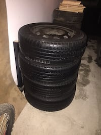 All season rims and tires