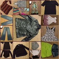 Buncha woman clothes new or like new cond. Buy all take free glasses Edmonton, T5T 2P9