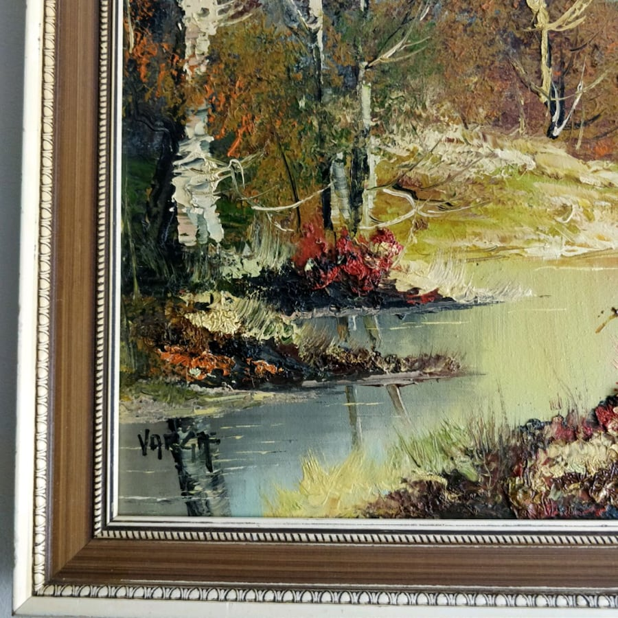 Original Oil on Canvas by listed artist VARGA  3c004716-8b06-4ca3-85d5-4cd4a337e1cb