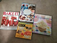 4 cook books Ajax, L1T 4C9