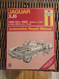 Jaguar XJ6 repair manual