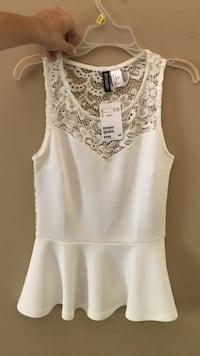 Small white lace top from H&M Ellicott City, 21042