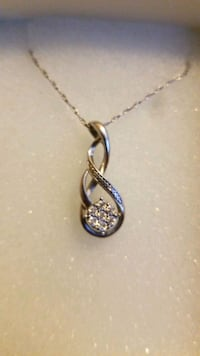 06b8f619c5ce26 Used Silver Pendant Necklace Kay Jewelers for sale in Greenfield ...