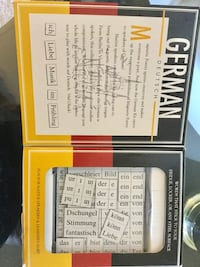 German Magnetic Poetry / New in box , play with words and create Language building * Alexandria, 22311