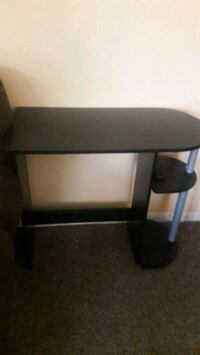 black wooden single-pedestal desk Manassas Park, 20111