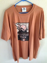 brown and black crew-neck t-shirt Cathedral City, 92234