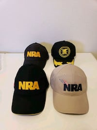 4 New NRA Hats - $15 For All or $5 Each Santa Rosa, 95404