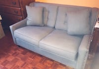 Grey studded love seat new Caledon, L7E 1T8