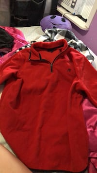 Red and black aeropostale pullover hoodie Aransas Pass, 78336