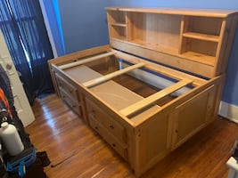 Storage Bed Frame-Twin Size