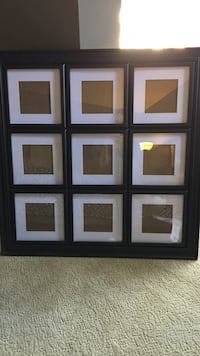 Bowring picture frame, holds 9 5x5 pictures. Surrey, V3W 6R7