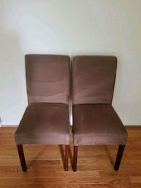 2 dining chairs Rockville, 20854