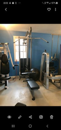 Lat pulldown/low row Stephens City, 22655