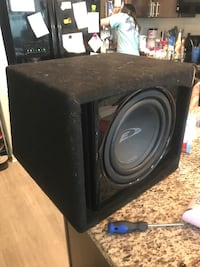 Amp/Sub and box Mount Holly, 28120