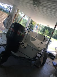 16 foot Donzi 115 HP Mercury Biloxi, 39532