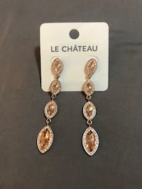 Brand new rose gold earrings  Burnaby, V5C 5A5