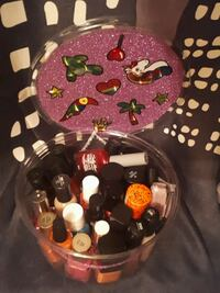 28 Bottles of Nail Polish + Cute Container  Edmonton, T6E 2C5