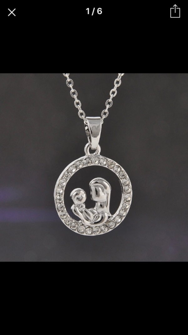 Mother baby special necklace