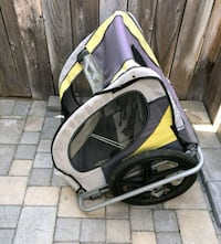 black and yellow bicycle trailer San Diego, 92116