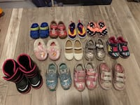 Toddler shoes lot size 5-8