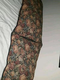 brown and black floral spaghetti strap bed pillows St. Louis, 63123