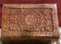 JEWELRY BOX w/ Carvings  Gardendale