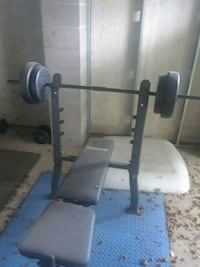 1 inch barbell w/100 lbs in weights Metairie, 70003