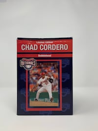 Vintage Limited Edition Washington Nationals Chad Cordero Bobblehead  Washington, 20016