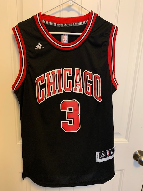 competitive price 21955 69dbb Authentic Dwyane Wade Chicago Bulls Jersey