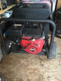 Black and red portable generator Martinsburg, 25404
