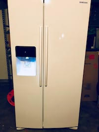 Samsung Double Door white fridge